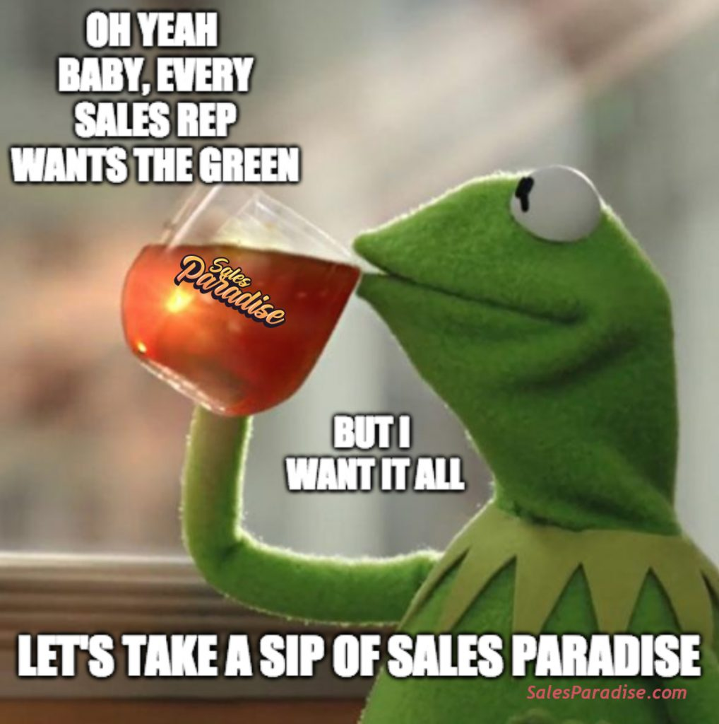 Sipping Sales Paradise